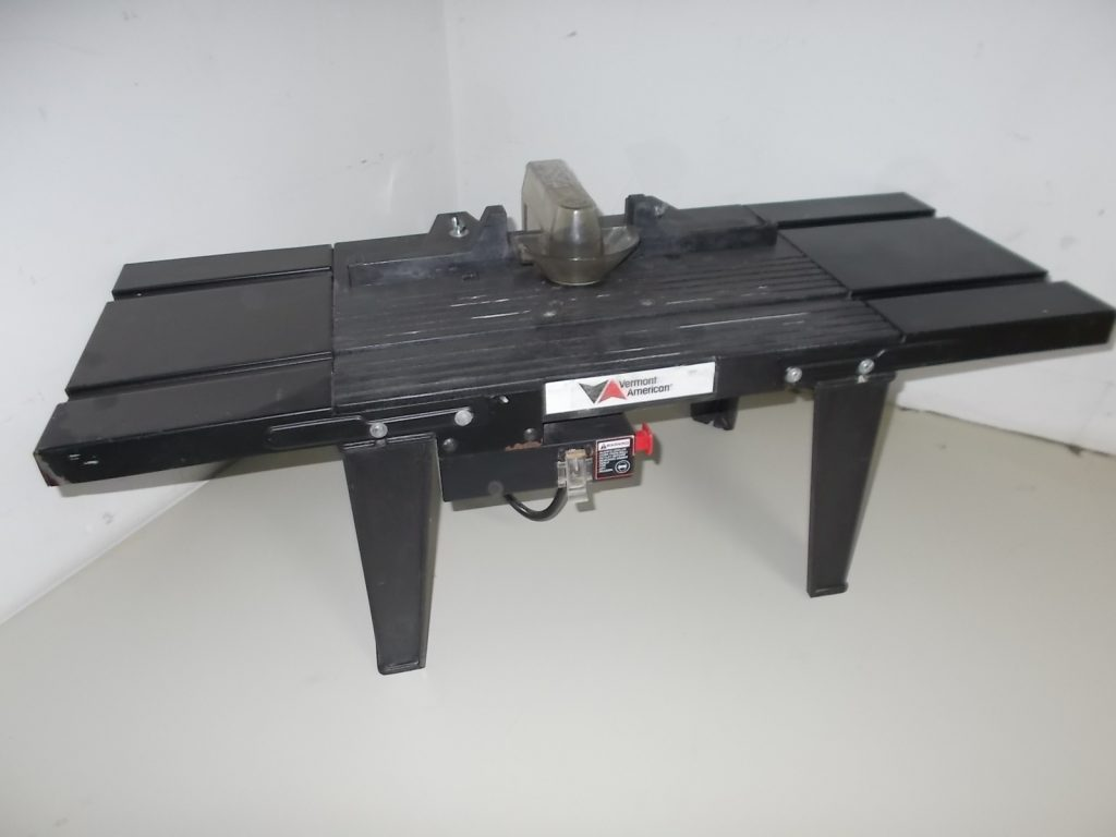 $45 VERMONT AMERICAN router table stand