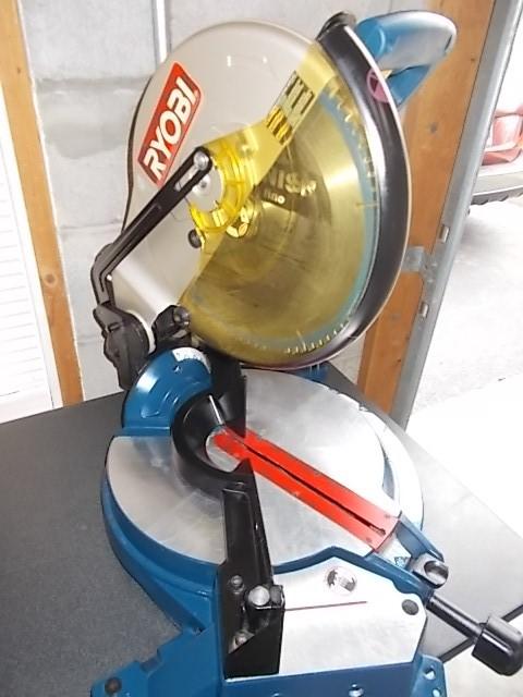 """$99 RYOBI 12"""" compound miter saw (3851)"""