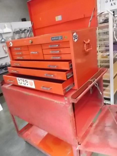 $399 MATCO tool chest w/ steel cart (4408)
