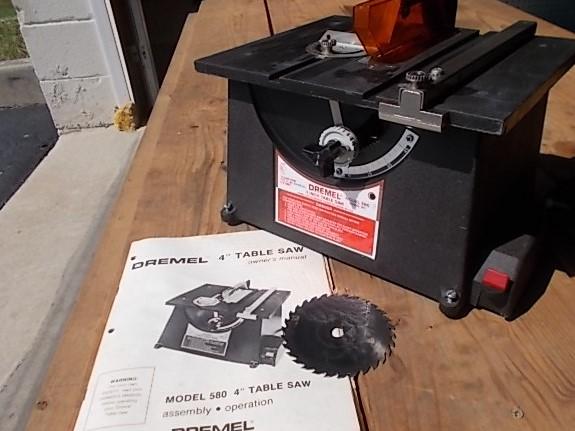 $89 DREMEL 580 4-inch table saw (5099)