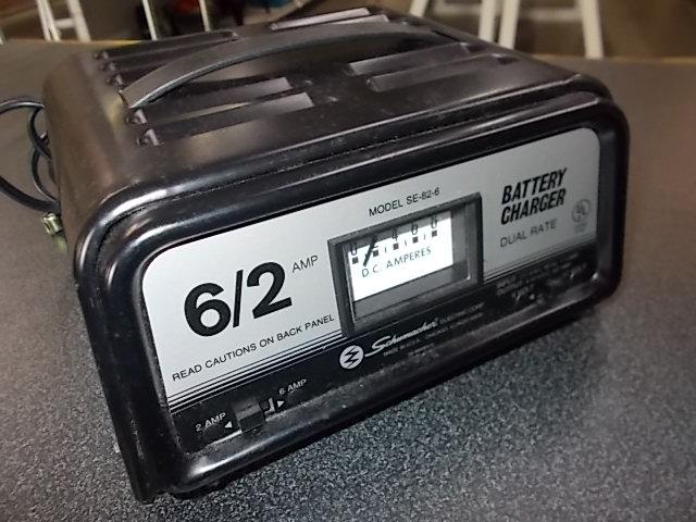 $15 SCHUMACHER SE-82-6 battery charger (5175)