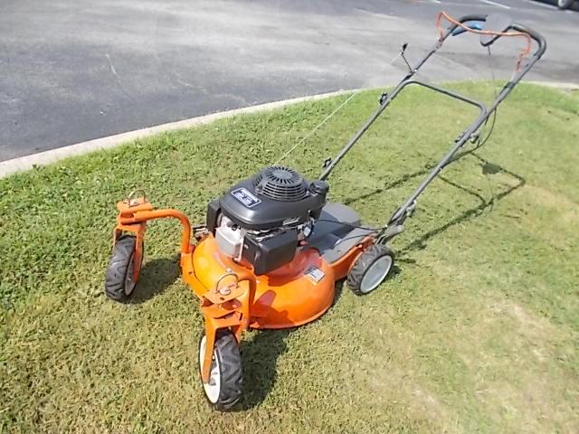 "$200 HUSQVARNA 21"" lawn mower, HONDA 6.5 hp (5222)"