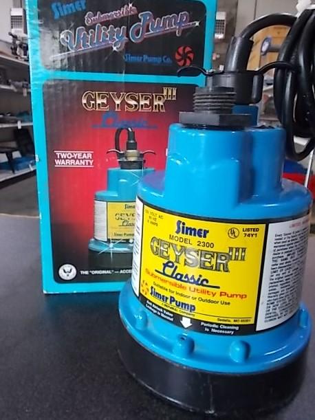 $40 Utility Pump (5226)