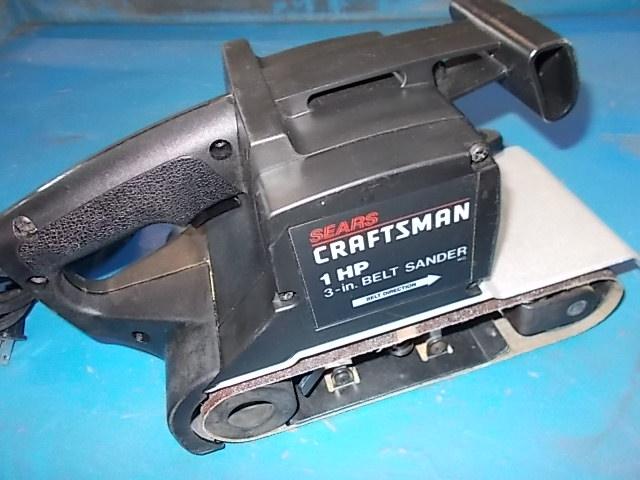 "$35 CRAFTSMAN 3""x21"" belt sander (5371)"