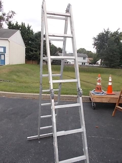 $60  16-ft folding ladder