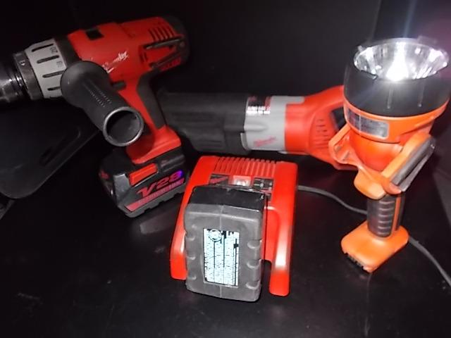 $199 5-piece MILWAUKEE 28-volt tool set